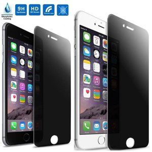 2 Pack Privacy Screen Protector for iPhone 8
